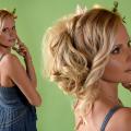 Hairstyle Shooting, Hochsteckfrisur