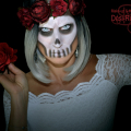 Skull Make-up , Totenkopf