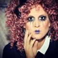 Puppengesicht Make-up
