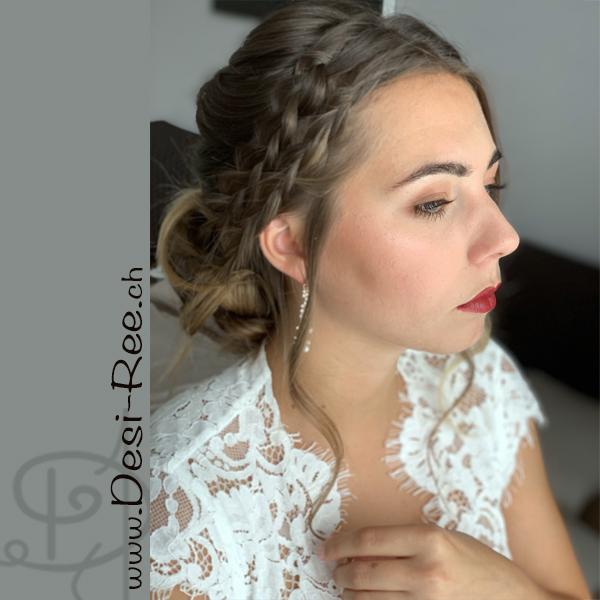 Brautmake-up / Brautfrisur