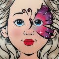 Schmetterling Kinderschminken