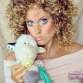 Puppengesicht rosa 01