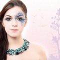 Kreativ Make-up Fotoshooting